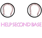Breast Cancer. Help Second Base t-shirts. Get Test