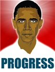 Obama Progress T-shirts. Wear the Obama Progress T