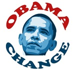 Change. Obama T-shirts and Gifts. Get the Change t
