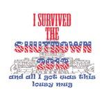 I Survived the Government Shutdown Mug