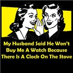 Clock On The Stove