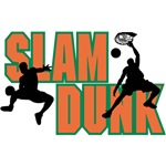 Slam Dunk Orange Logo