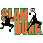 Slam Dunk Orange Logo