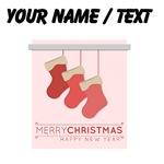 Custom Merry Christmas Happy New Year