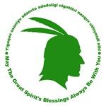 Great Spirit's Blessings Green
