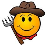 Smiley Face Cowboy