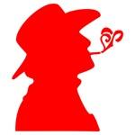Red Smoking Cowboy
