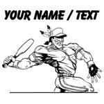 Custom Native American Baseball