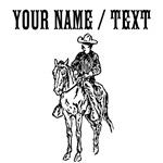 Custom Cowboy On Horse