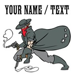 Custom Cowboy Bandit Cartoon