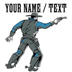 Custom Shooting Cowboy