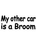 My other car is a broom.