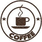 Coffee. logo style coffee shirts