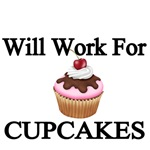 Will Wokrk for Cupcakes