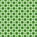 Green Octagon Pattern