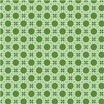 Green India Inspired Circles Pattern
