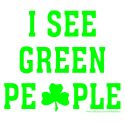 I SEE GREEN PEOPLE T-SHIRTS AND GIFTS