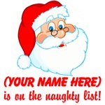 Personalized Naughty List