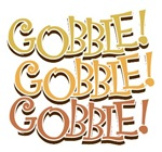 Gobble Thanksgiving Aprons, T-shirts & Gifts