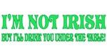 St Patty's Irish Drinkin Humor