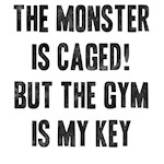 Monster is caged