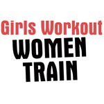 Girls workout women train