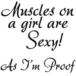 Muscle on Girls