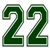 22 GREEN