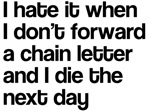 Forward Chain Letter