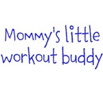 Mommy's little workout buddy