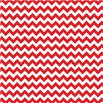 Red and White Chevron