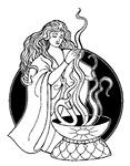 Sorceress Fantasy Art