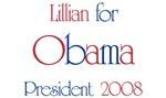 Lillian for Obama 2008