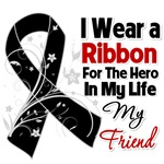 Skin Cancer and Melanoma Hero in My Life Shirts