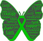 Butterfly Bile Duct Cancer Ribbon