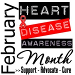 Heart Disease Awareness Month February Shirts