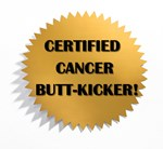 Certified Cancer Butt-Kicker T-Shirts & Gifts