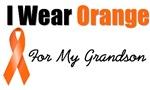 I Wear Orange For My Grandson