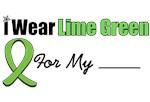 I Wear Lime Green Ribbon Lymphoma T-Shirts