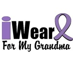 I Wear Violet Ribbon For My Grandma