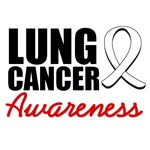 Lung Cancer Awareness T-Shirts & Gifts