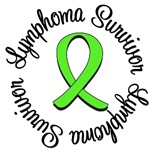 Lymphoma Survivor Ribbon T-Shirts & Gifts