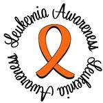 Leukemia Awareness Circle T-Shirts