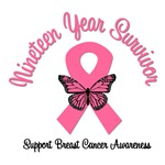 19 Year Breast Cancer Survivor T-Shirts