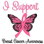 I Support Breast Cancer Awareness T-Shirts
