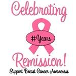 Celebrating Breast Cancer Remission T-Shirts