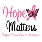 Hope Matters Breast Cancer Awareness T-Shirts