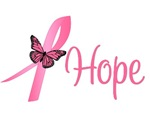 Breast Cancer Hope Butterfly