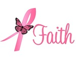 Breast Cancer Faith Butterfly
