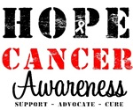 Hope Cancer Awareness T-Shirts & Gifts